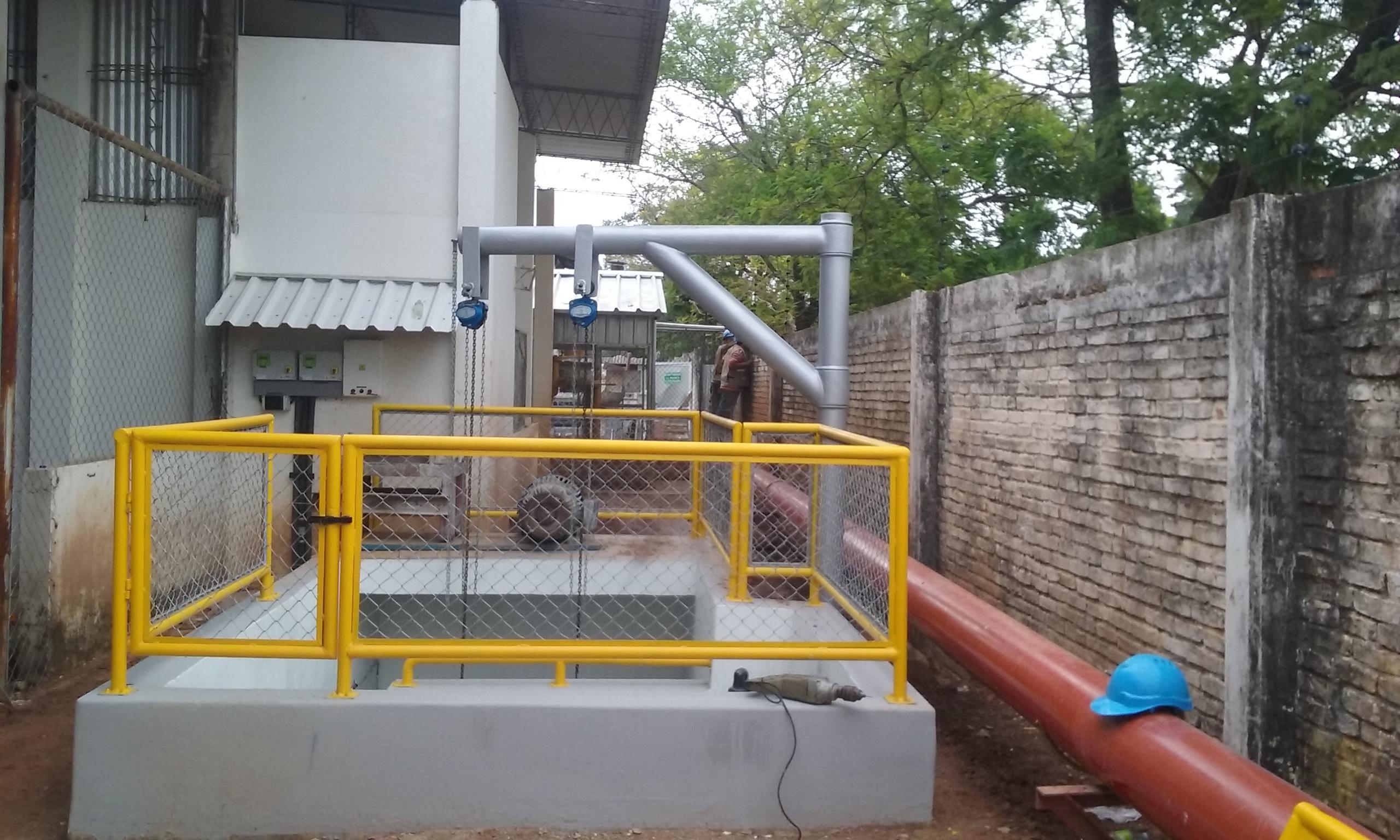 Construcción  «Estación de Bombeo y Tubería de Impulsión de Efluentes Industriales de Kimberly Clark» – BOLIVIA S.A. gallery
