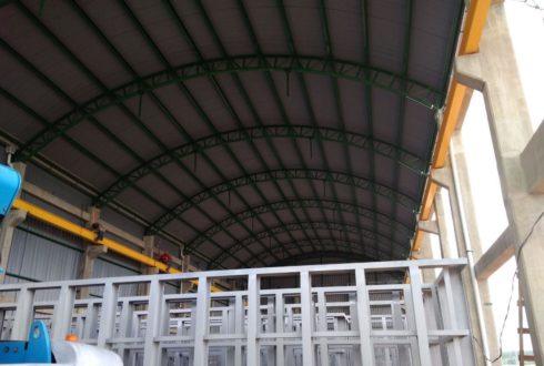 Construcción de «Galpón para Planta Galvanizadora» – INDUSTRIA GREEN ENERGY
