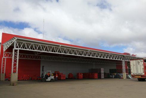 Construcción  «Cubierta de Expedición PI6» – EMBOL S.A.